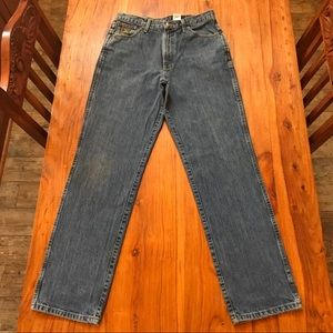 Cinch Green Label Original Fit Blue Jeans 33 x 34